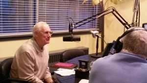 Charlie Hammond Pic at Radio Station